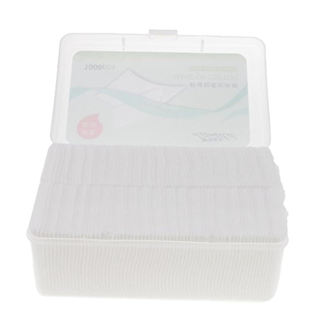 水曜日延期する団結Toygogo メイクリムーバー 化粧品パフ コットンパッド 綿パッド ソフト 旅行用品 携帯便利 約1000枚入り