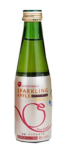 青森県りんごジュース スパークリングアップル 200ml×24本