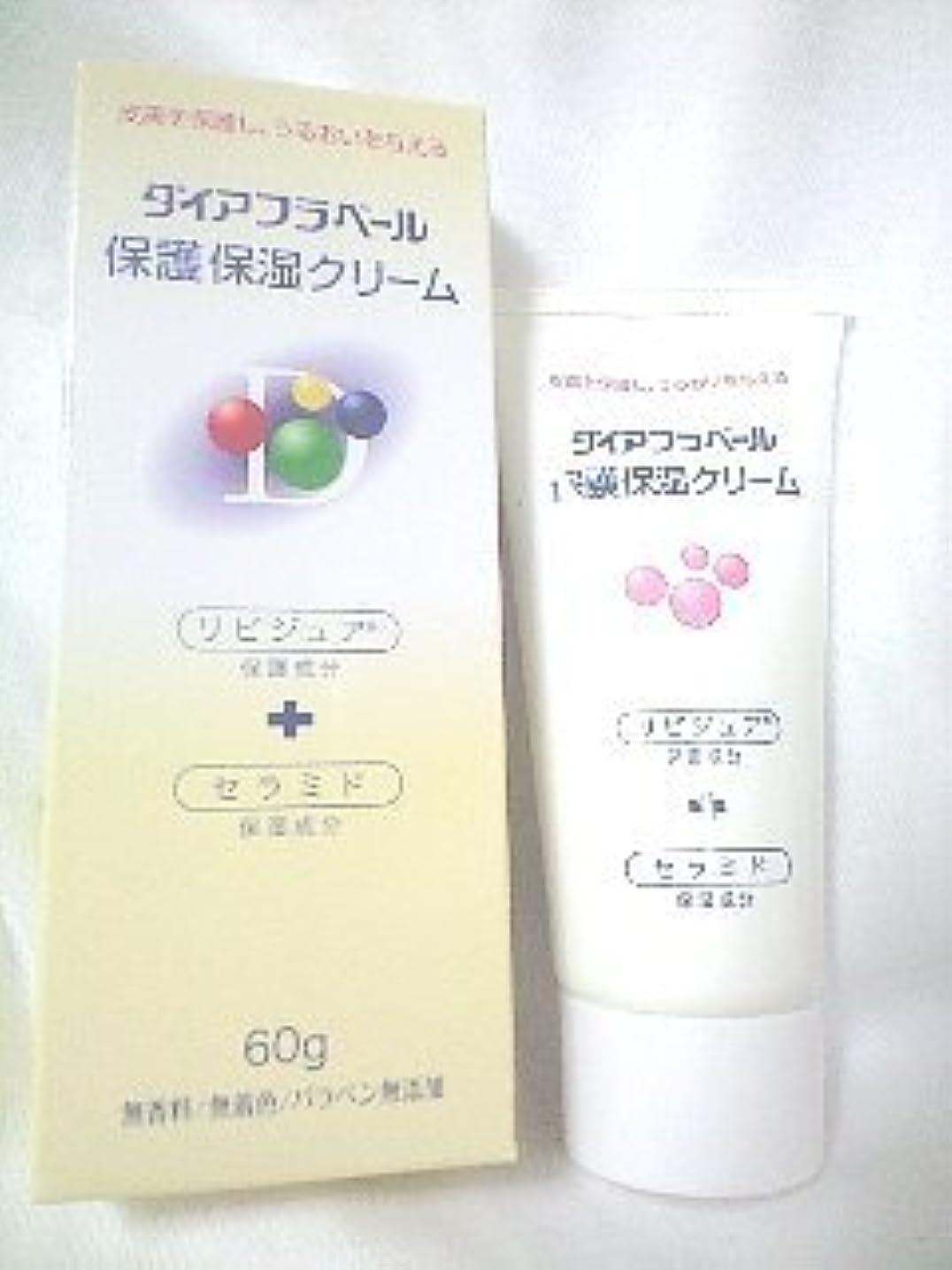 練習した着飾る状ダイアフラベール 保護保湿クリームクリーム 60g×(10セット)