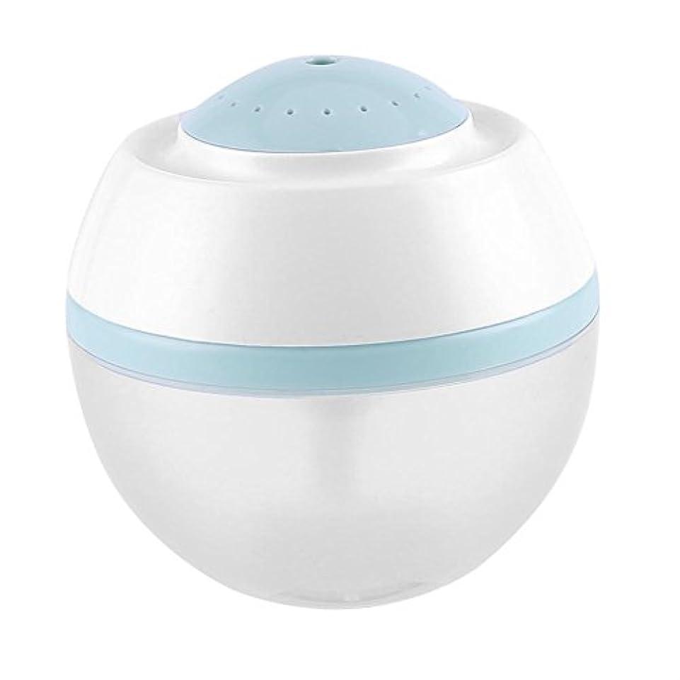 結果オークストレスの多い超音波クールミスト加湿器、500ml空気清浄器気化器ディフューザー7色LED付きプレミアム加湿ユニット(青)