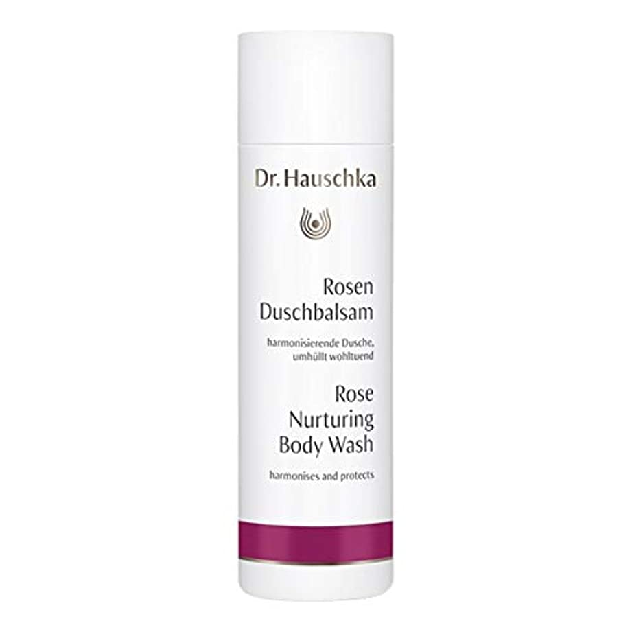 驚かす眠る公平[Dr Hauschka] Drハウシュカの育成は、ボディウォッシュ200ミリリットルをバラ - Dr Hauschka Nurturing Rose Body Wash 200ml [並行輸入品]