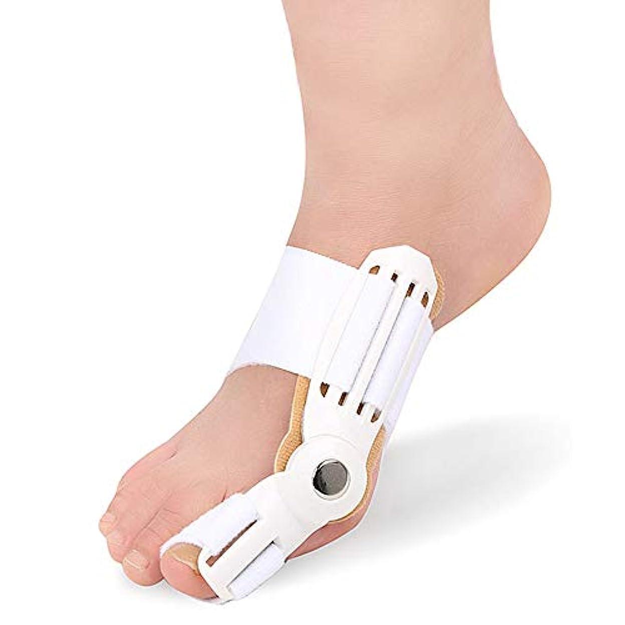 韓国語却下する冷淡なつま先セパレーターは、ヨガのエクササイズ後のつま先重なりの腱板ユニバーサル左右ワンサイズ予防の痛みと変形を防ぎます,白