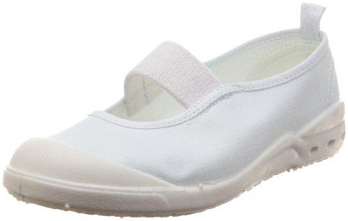 [アキレス] 上履き 抗菌防臭 洗濯機洗い可 15~28cm 2E 男の子 女の子 ホワイト 23.5cm