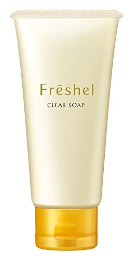 縞模様の重なる流産フレッシェルN 洗顔料 クリアソープN 130g