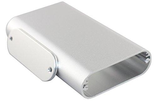 丸みのあるタイプ【自作用】DIY デジタルアンプ ポータブルヘッドフォンアンプ に最適! アルミ製ケース ボックス 箱 電子工作 キット 汎用 サイズ:110*70*24MM