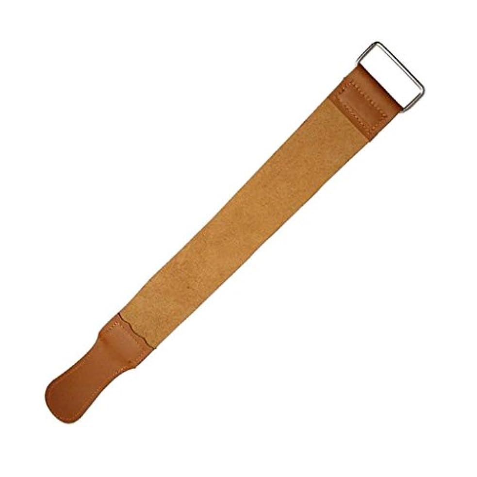 余暇側溝嵐CUHAWUDBA 剃刀用のバーバーレザーシェービング練習とストロップツール