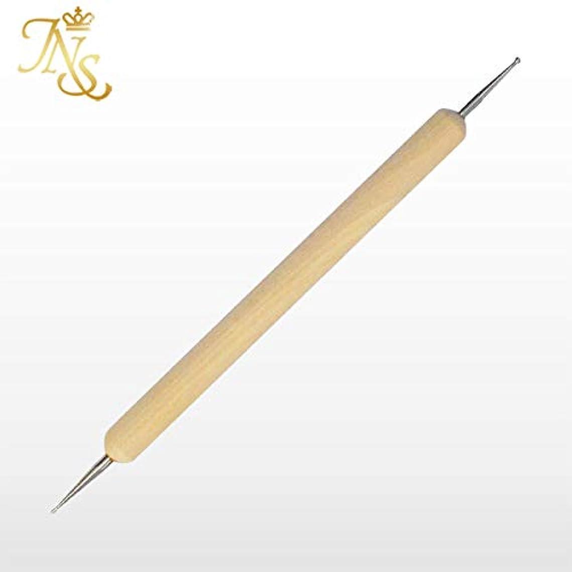 マイルドアルカトラズ島頻繁にネイルアートの必需品!スタイラス ドット棒