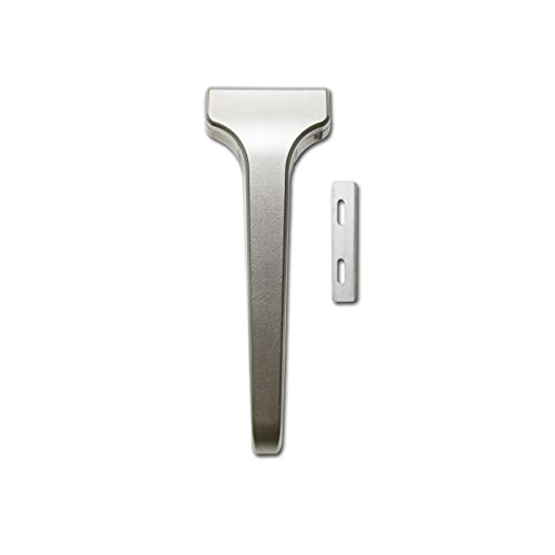 処分した標準大聖堂SUPPLY The Single Edge 2.0 片刃カミソリ 剃刀 インジェクター刃互換 (クラシックマット, 本体+替刃 20枚付)