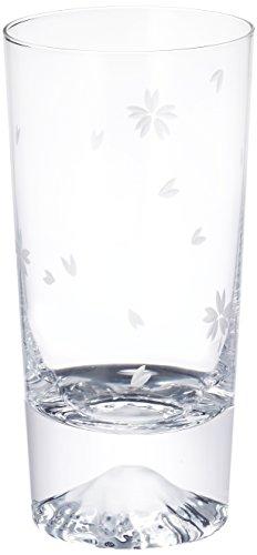 田島硝子 富士山 タンブラーグラス 桜富士 TG16-015-TS