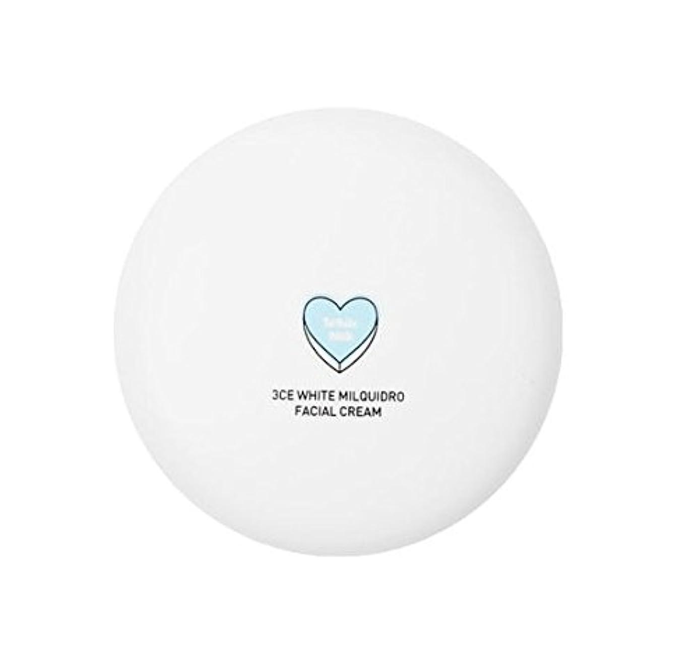 取得する極端なサイトライン3CE WHITE MILQUIDRO FACIAL CREAM 50ml / 3CE ホワイトミルクウィドローフェイシャルクリーム [並行輸入品]