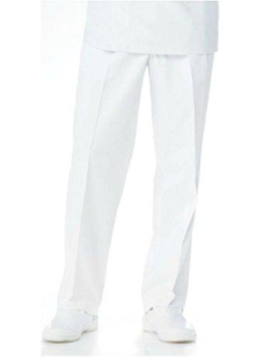 [해외](나가 이레 벤) NAGAILEBEN 남자 바지 켁 스타 닥터웨어 바지 백의 KES-5163 LL 사이즈 화이트/(Nagai Leben) NAGAILEBEN Men`s Slackskeck Star Doctor Wear Pants White Coat KES-5163 LL Size White