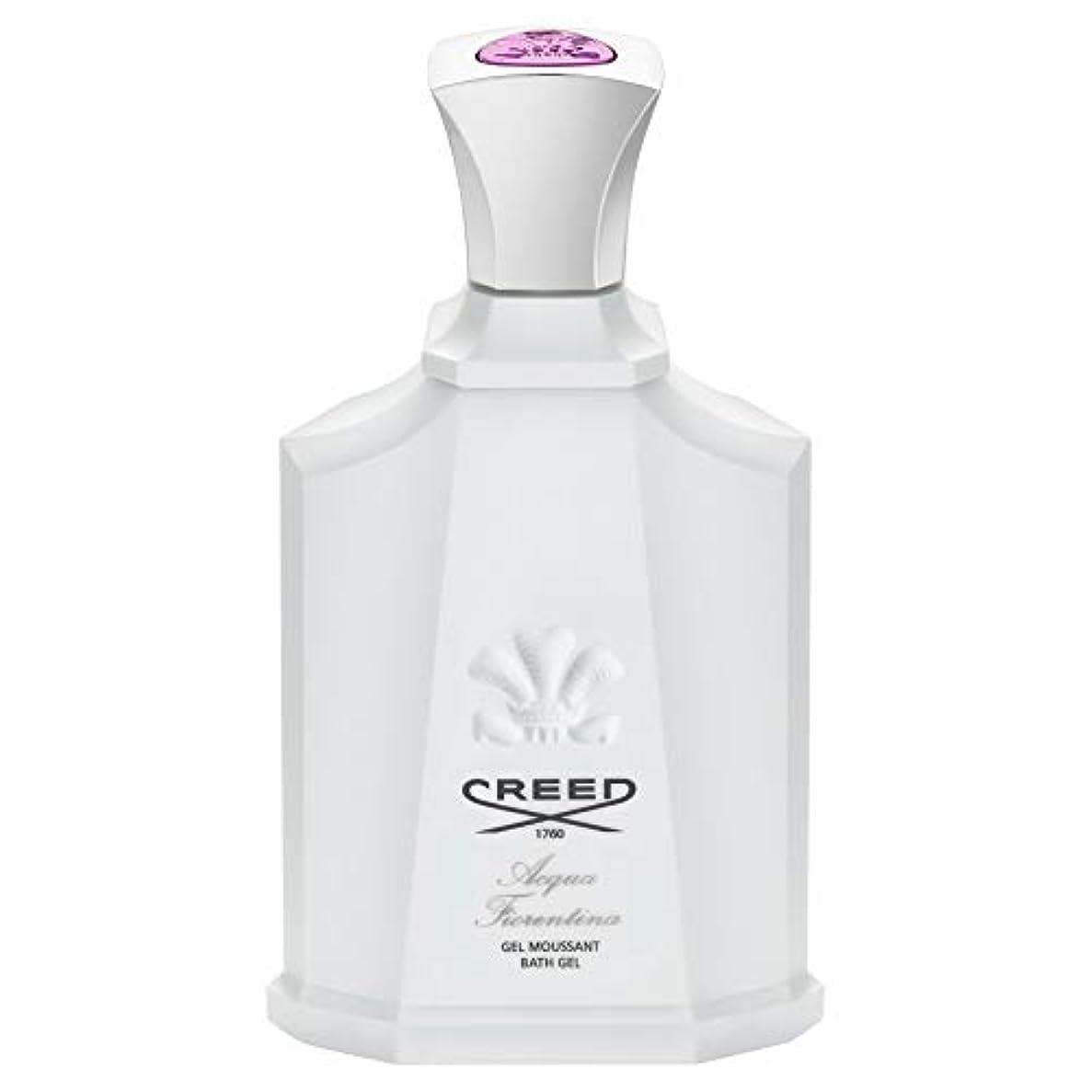 懸念おなかがすいた刺繍[CREED] 信条アクアフィオレンティーナシャワージェル200Ml - Creed Acqua Fiorentina Shower Gel 200ml [並行輸入品]