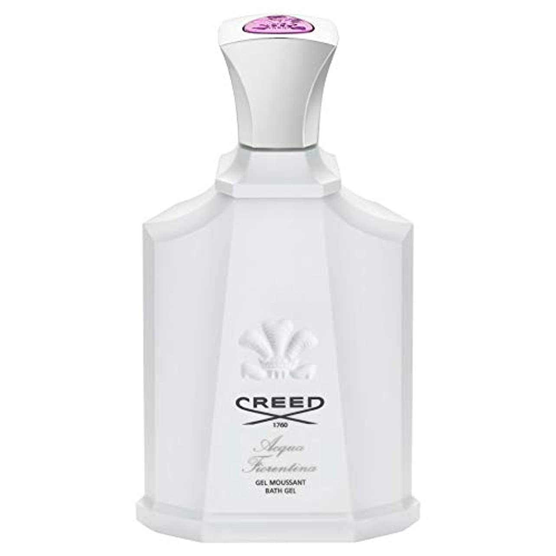 飛び込む精算ラック[CREED] 信条アクアフィオレンティーナシャワージェル200Ml - Creed Acqua Fiorentina Shower Gel 200ml [並行輸入品]