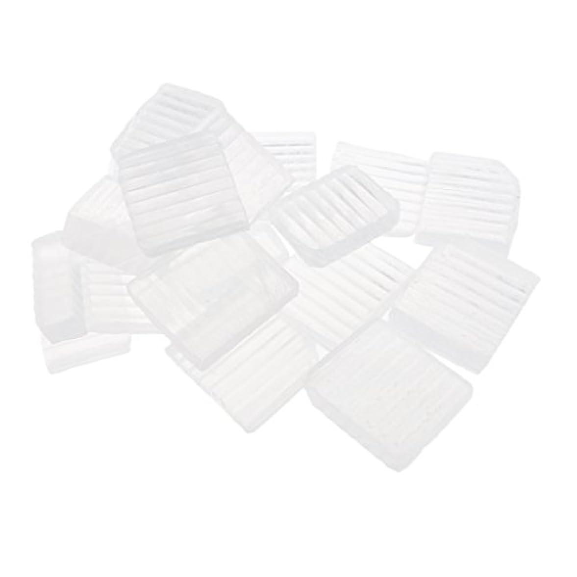 Baoblaze 透明 石鹸ベース DIY 手作り 石鹸 DIYバス用品