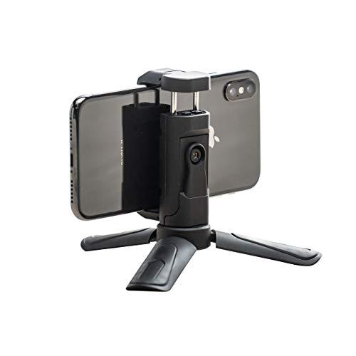 サンワダイレクト スマホ 三脚 iPhone XS/XS Max 対応 軽量80g スマホスタンド 360°回転 200-DGCAM018