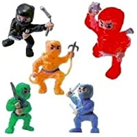 Ninja Toys Pack of 50 by CollectsNHobbies [並行輸入品]