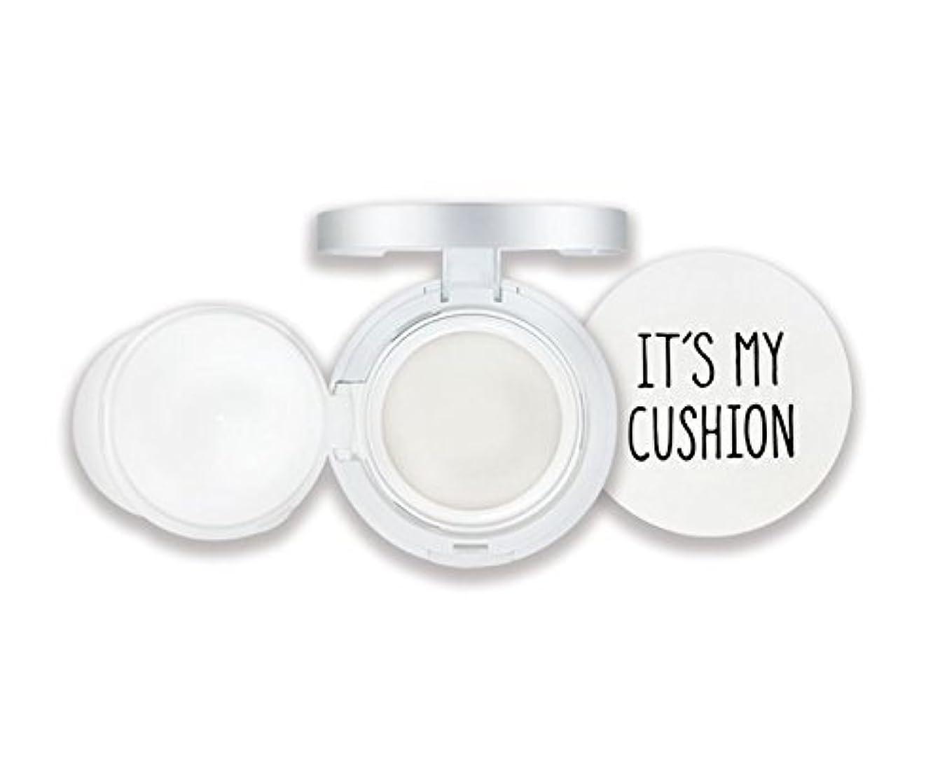公段落逸脱Its My Cushion ケース DIY BB クッションパクト コスメティックケース スポンジ付き、 内部ケース、 自分で作るコスメティックケース (クッションケー スカラー : White Case) [並行輸入品]