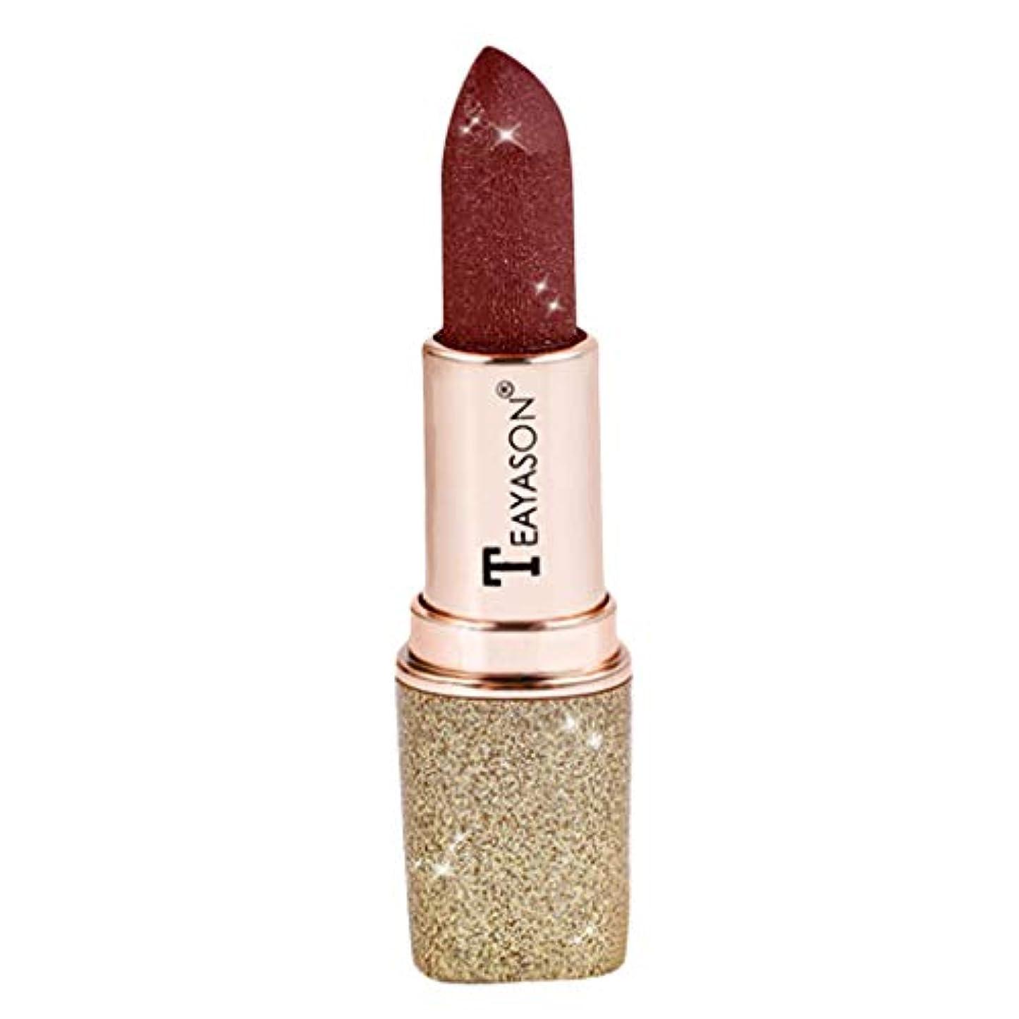 ペスト想定解釈的口紅 マット 化粧 メイクアップ リップスティック リップグロス 女の子 日常 全12色 - 08