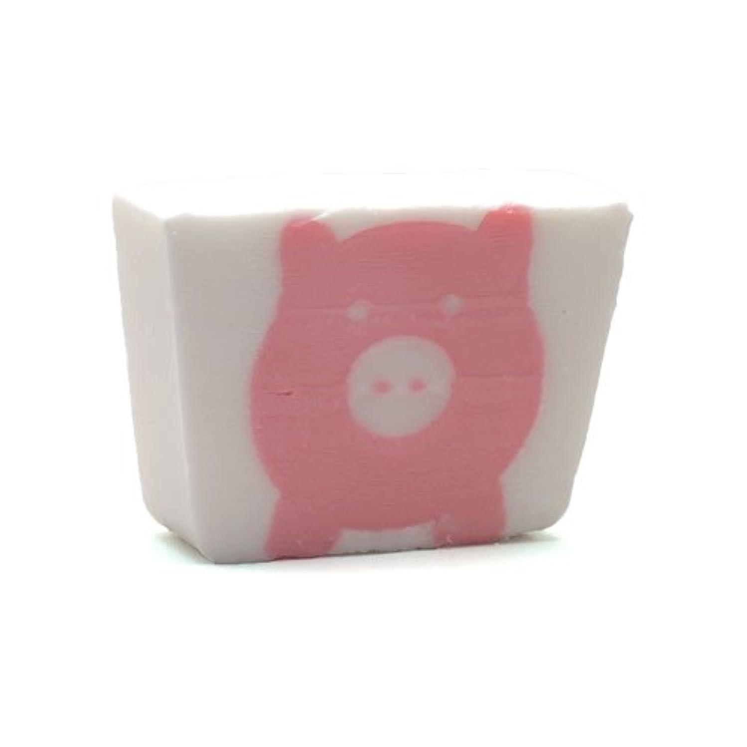 再編成するお風呂を持っている強調プライモールエレメンツ アロマティック ミニソープ ピンクピッグ 80g 植物性 ナチュラル 石鹸 無添加
