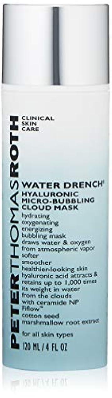 拡散する遅い風ピータートーマスロス Water Drench Hyaluronic Micro-Bubbling Cloud Mask 120ml/4oz並行輸入品