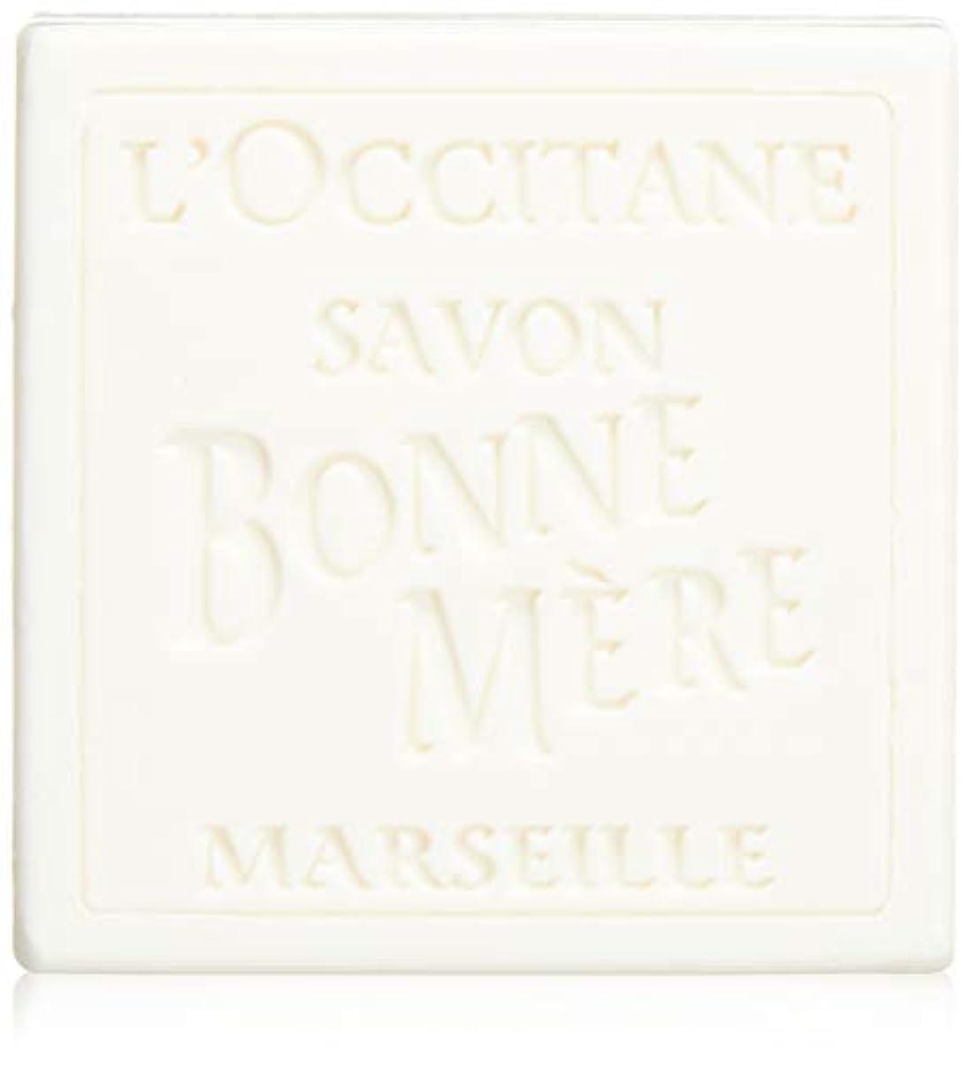 学校プットテクスチャーロクシタン(L'OCCITANE) ボンメールソープ ミルク 100g