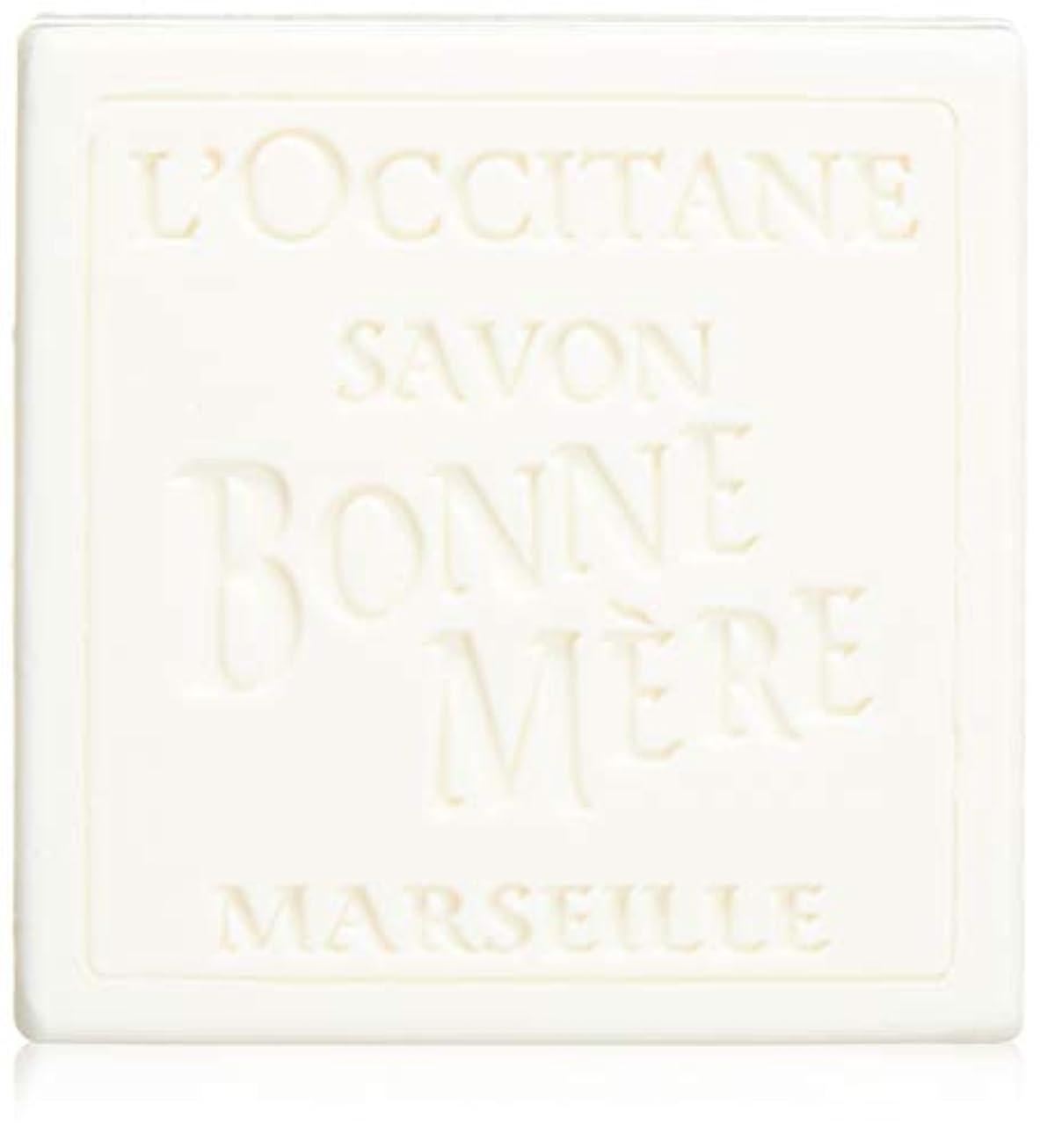 義務的コンチネンタルバストロクシタン(L'OCCITANE) ボンメールソープ ミルク 100g