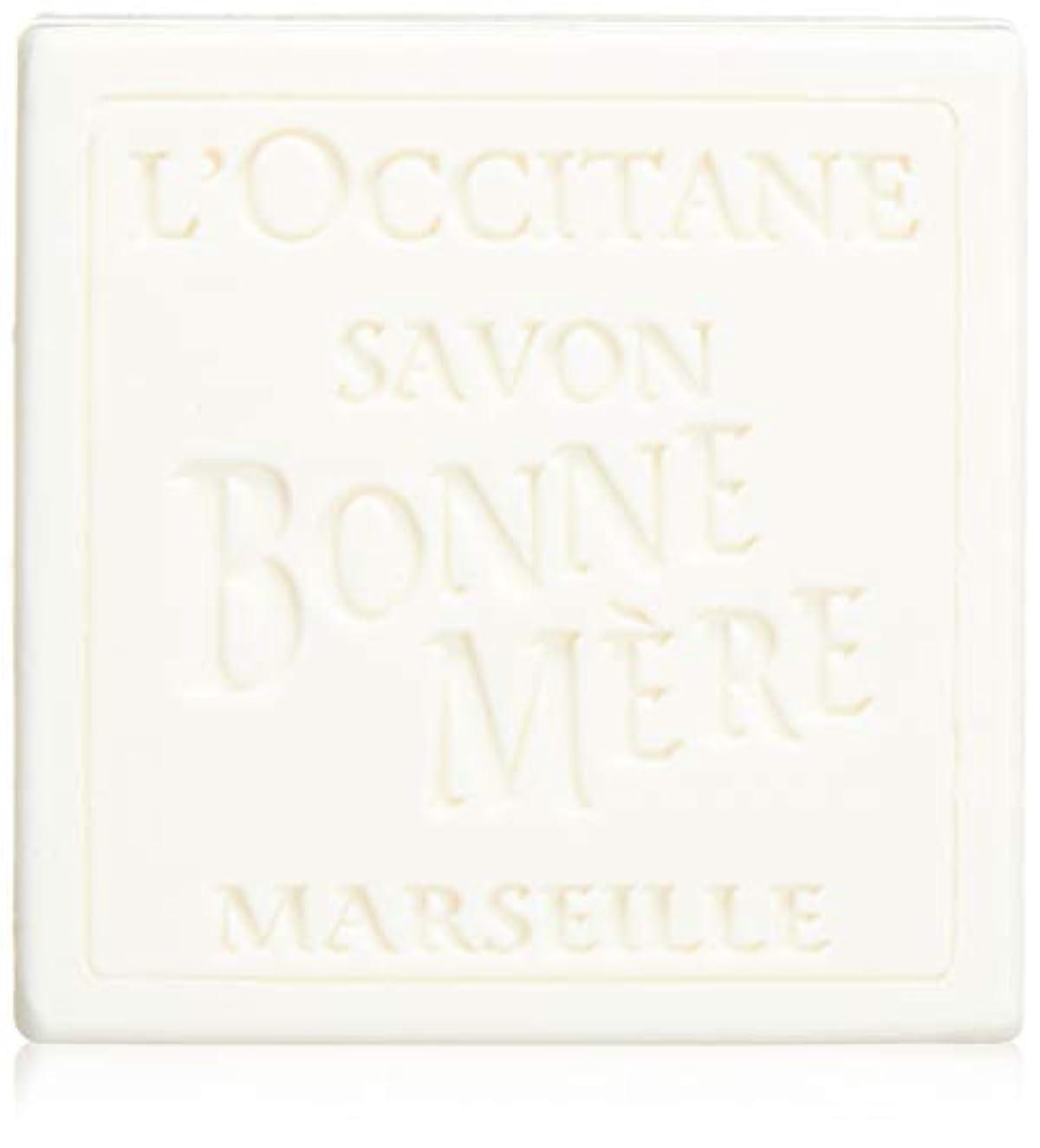 イディオムあえぎ時刻表ロクシタン(L'OCCITANE) ボンメールソープ ミルク 100g