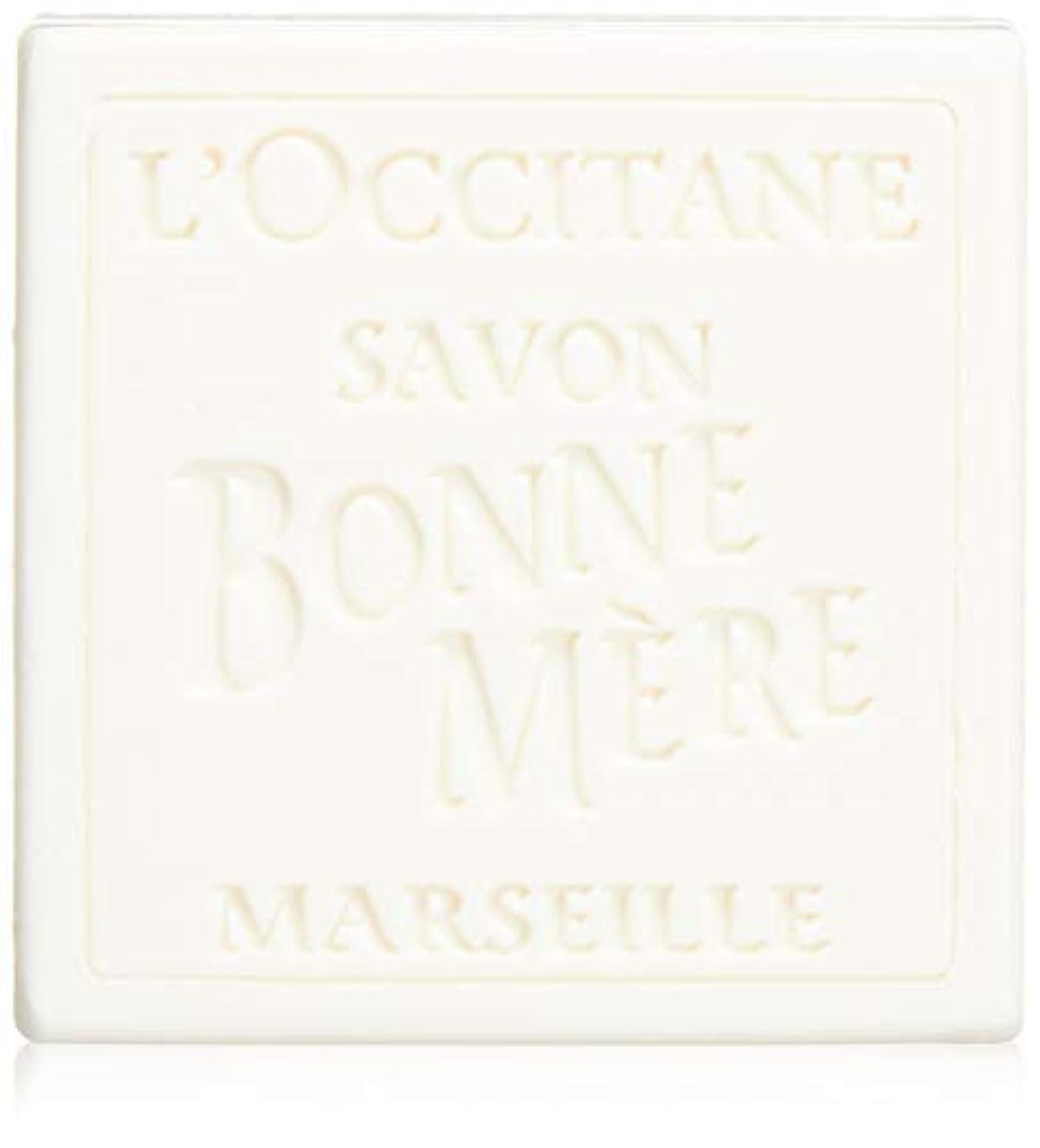 でアジテーション好奇心ロクシタン(L'OCCITANE) ボンメールソープ ミルク 100g