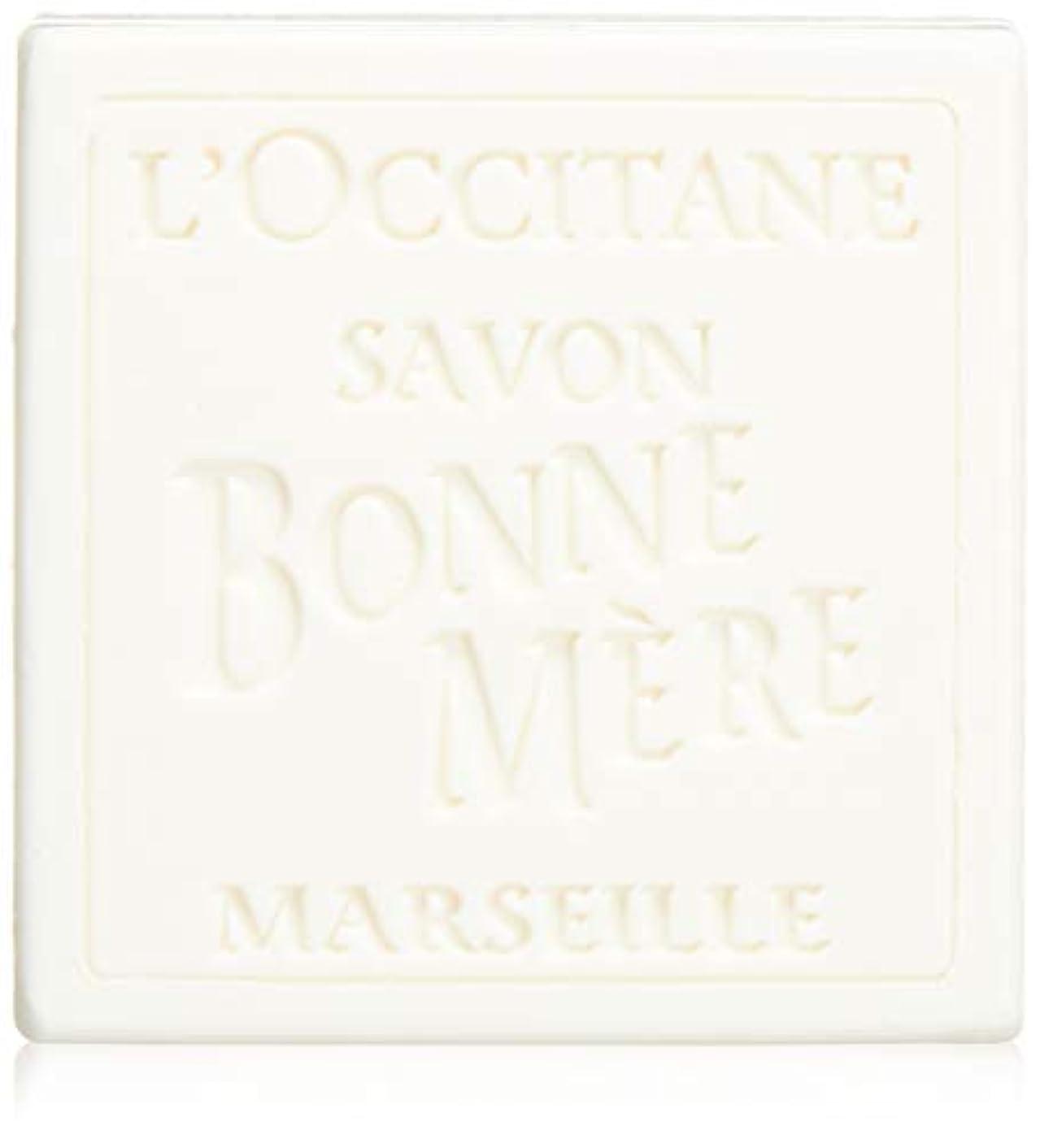 ネブ中央紀元前ロクシタン(L'OCCITANE) ボンメールソープ ミルク 100g