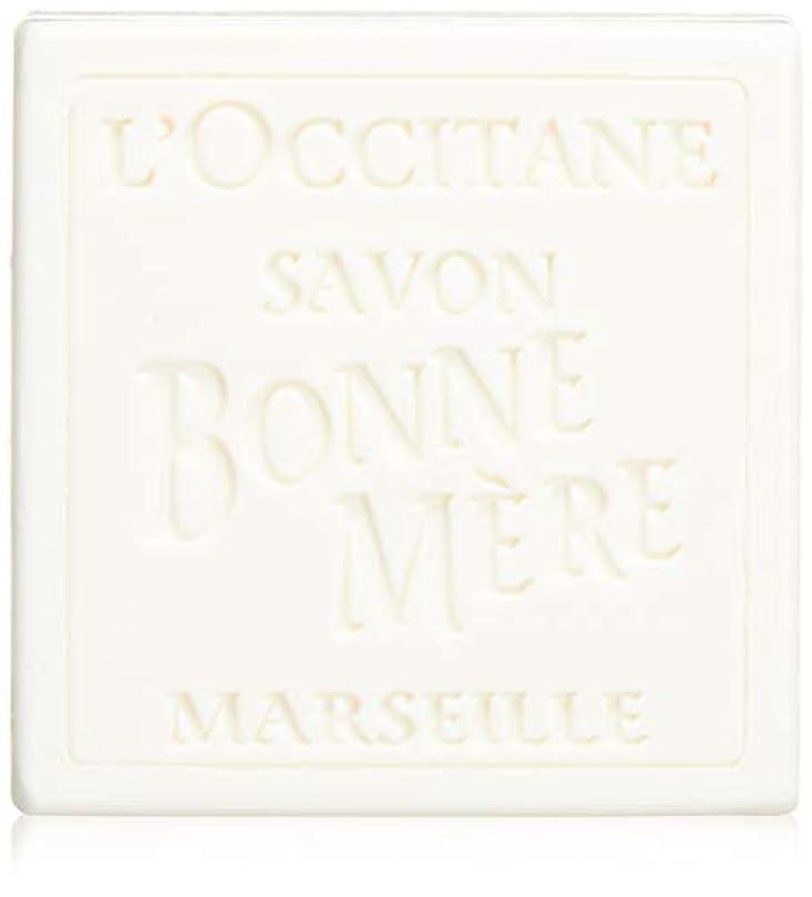 マオリ傾いたキャンセルロクシタン(L'OCCITANE) ボンメールソープ ミルク 100g