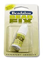 Beadfix Glue w/ 2 Precision Applicators by JewelrySupply