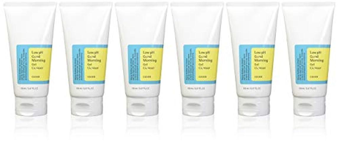 プット力学好ましい(6 Pack) COSRX Low pH Good Morning Gel Cleanser (並行輸入品)