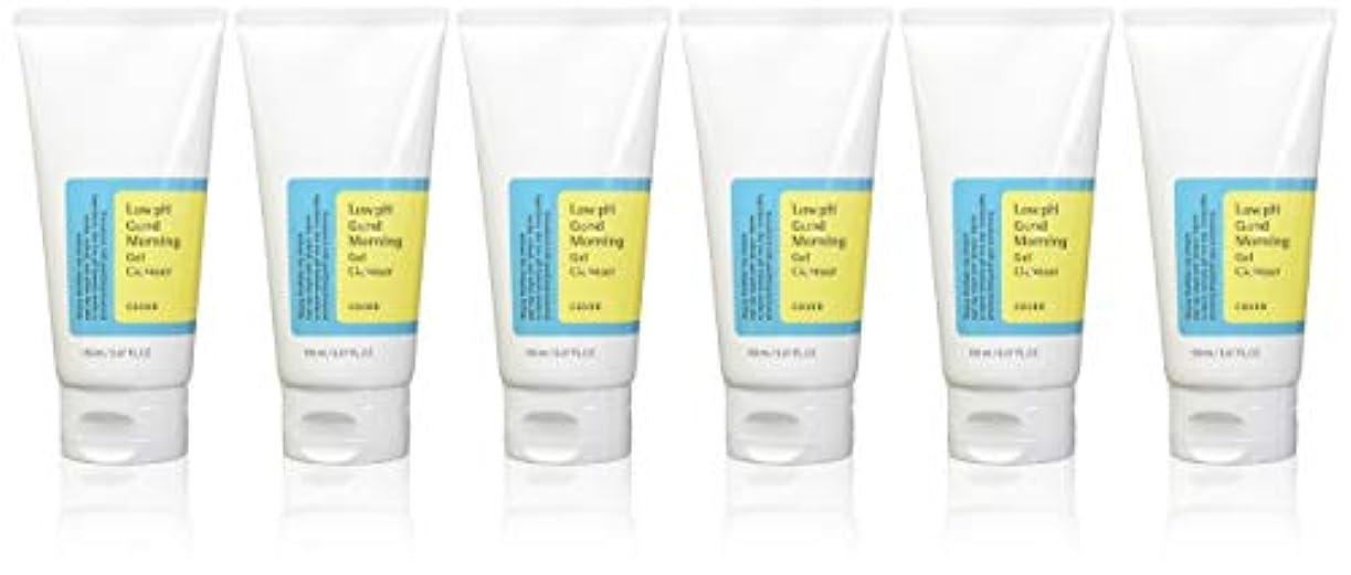 ブランチ真空アクセント(6 Pack) COSRX Low pH Good Morning Gel Cleanser (並行輸入品)