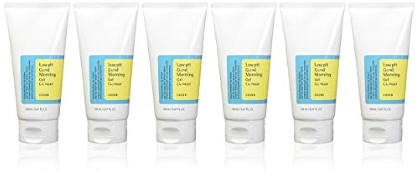 エンジニア着実に適用する(6 Pack) COSRX Low pH Good Morning Gel Cleanser (並行輸入品)