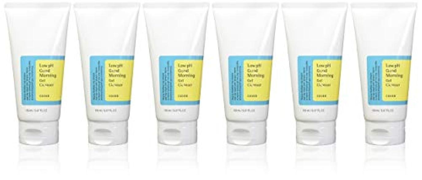 許容できる配当クリック(6 Pack) COSRX Low pH Good Morning Gel Cleanser (並行輸入品)