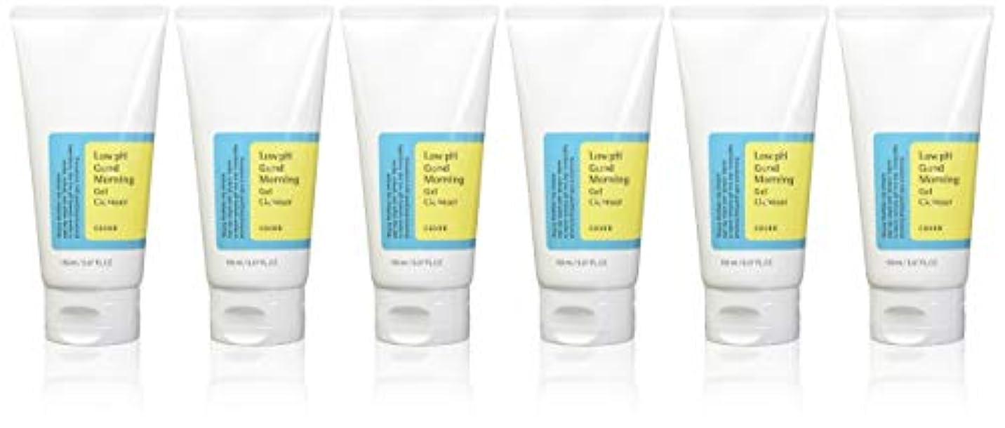 嬉しいですセブンデンマーク語(6 Pack) COSRX Low pH Good Morning Gel Cleanser (並行輸入品)