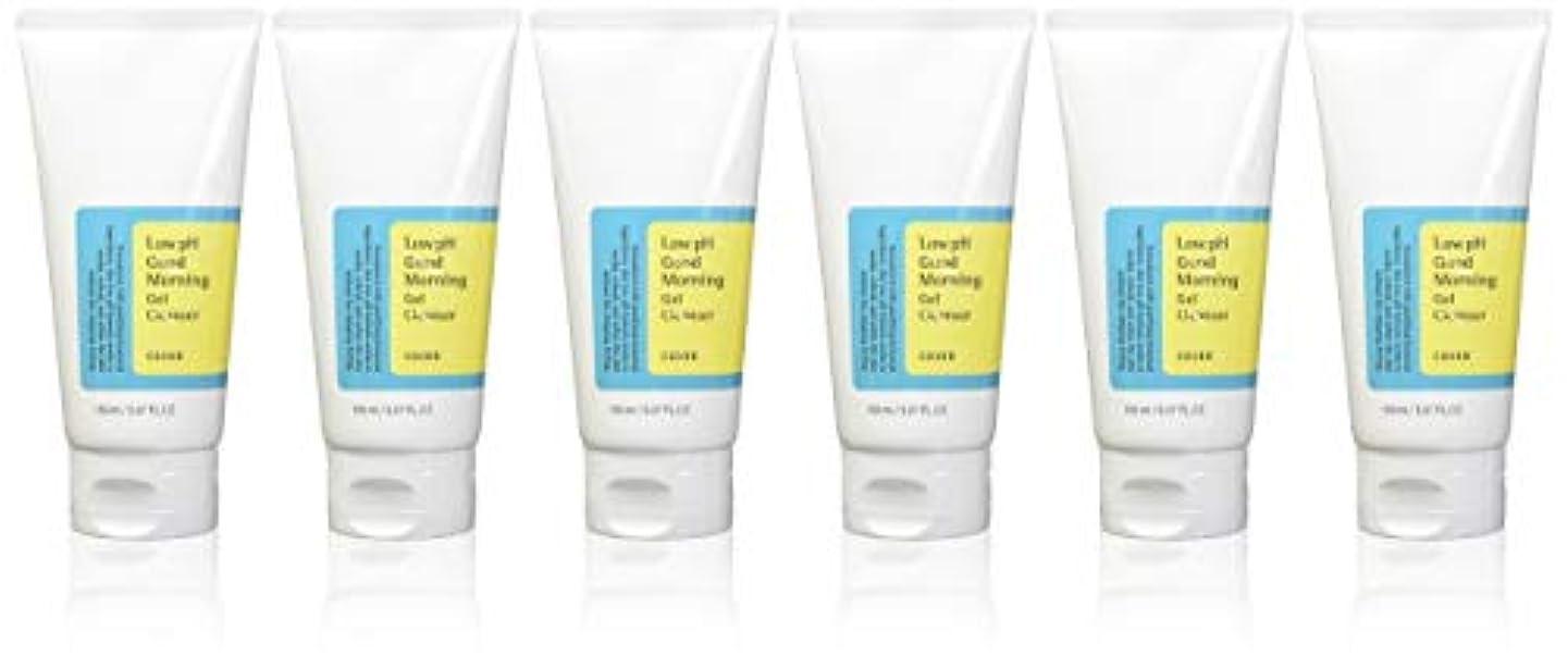 文明化するシソーラスお風呂を持っている(6 Pack) COSRX Low pH Good Morning Gel Cleanser (並行輸入品)