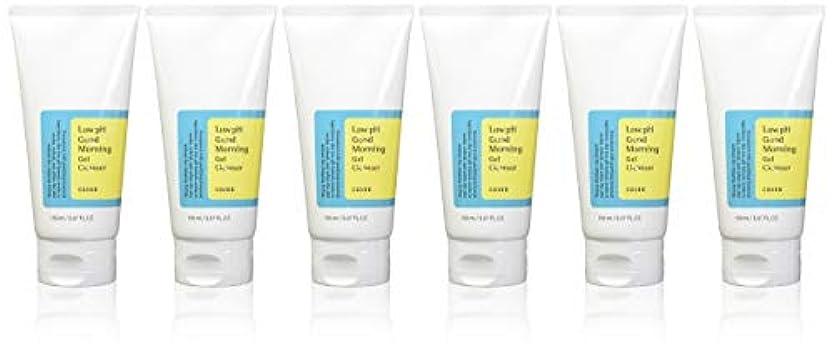 売る神秘シャイニング(6 Pack) COSRX Low pH Good Morning Gel Cleanser (並行輸入品)