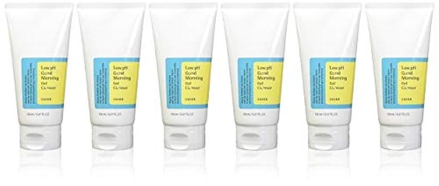 緊張不誠実懲戒(6 Pack) COSRX Low pH Good Morning Gel Cleanser (並行輸入品)