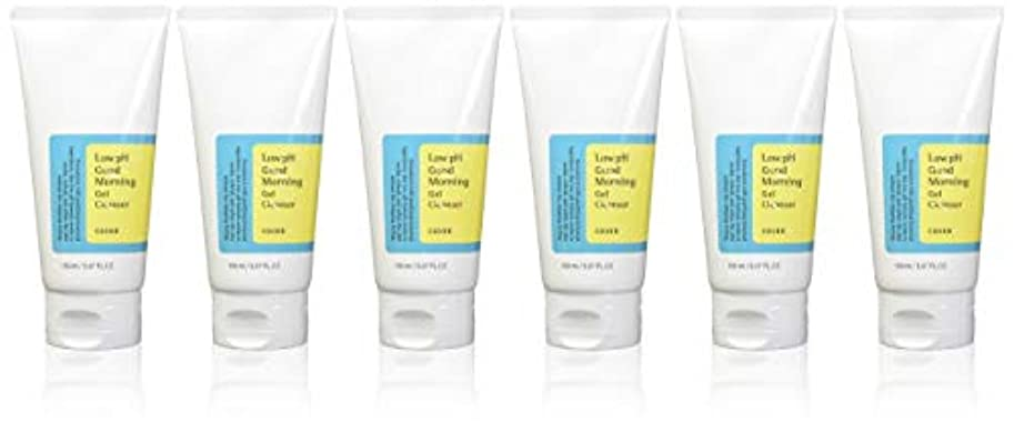 (6 Pack) COSRX Low pH Good Morning Gel Cleanser (並行輸入品)