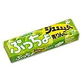 UHA味覚糖 ぷっちょスティック 青りんご(10粒入り)×10個