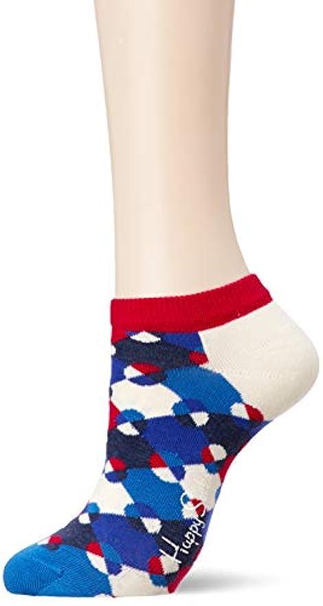 支払いワードローブ発音[ハッピーソックス] ソックス Diamond Dot Low Sock