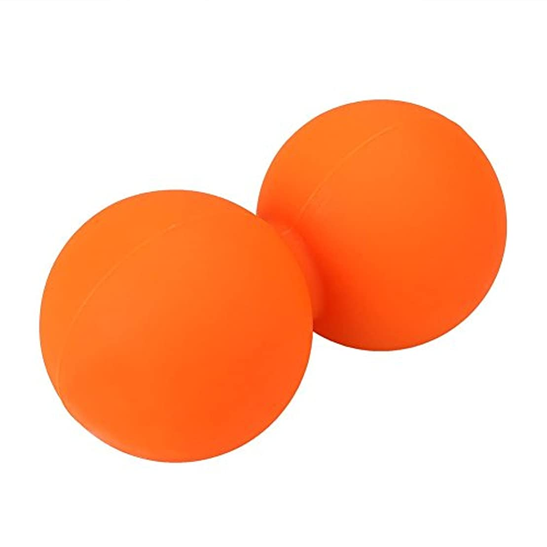 attachmenttou スパイクマッサージボールダブルラクロス 筋筋膜トリガーリリースピーナッツ マッサージクロスボール 運動