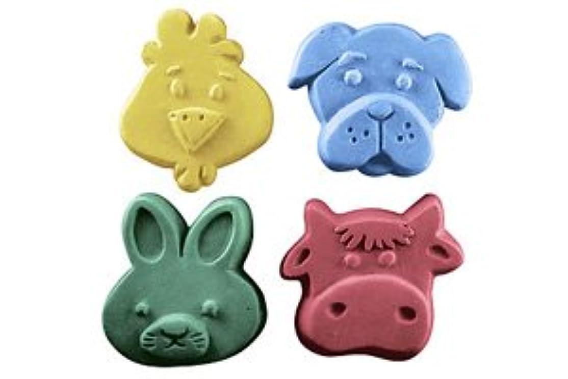 湿ったプライム幸運なミルキーウェイ キッズクリッター[ウサギ・イヌ・ウシ・トリ] 【ソープモールド/石鹸型/シートモールド】