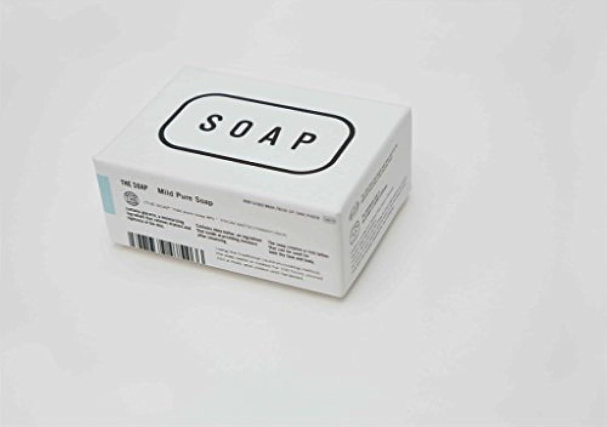 慢性的ブラザー臭いTHE(ザ) THE SOAP 赤ちゃんの顔や髪にまで使える釜焚き枠練りせっけん 1304-0078-200-00