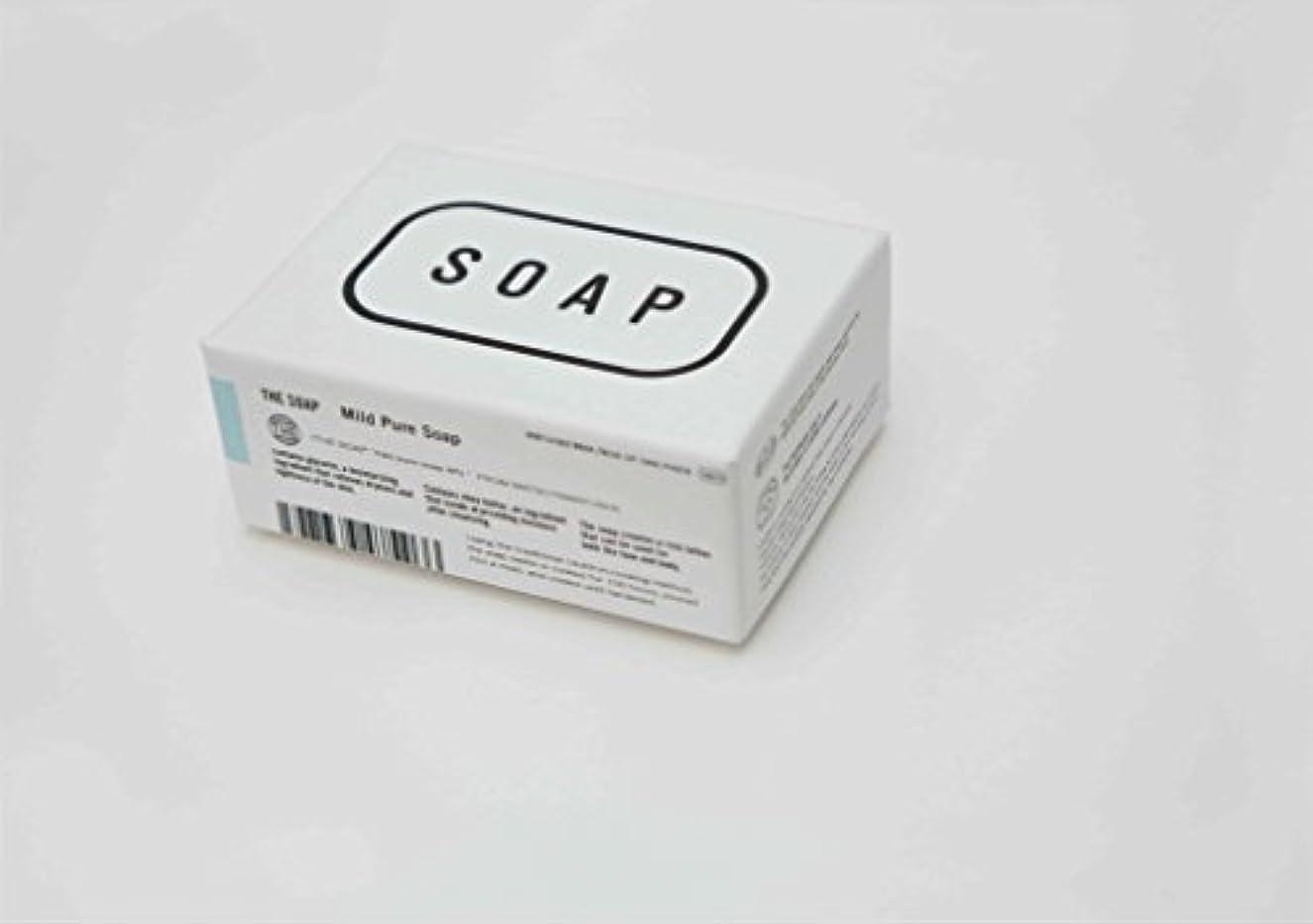 カラスうまくやる()通信網THE(ザ) THE SOAP 赤ちゃんの顔や髪にまで使える釜焚き枠練りせっけん 1304-0078-200-00