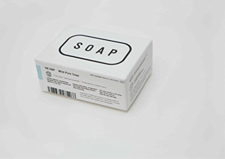 グラフィックひばりスライスTHE(ザ) THE SOAP 赤ちゃんの顔や髪にまで使える釜焚き枠練りせっけん 1304-0078-200-00