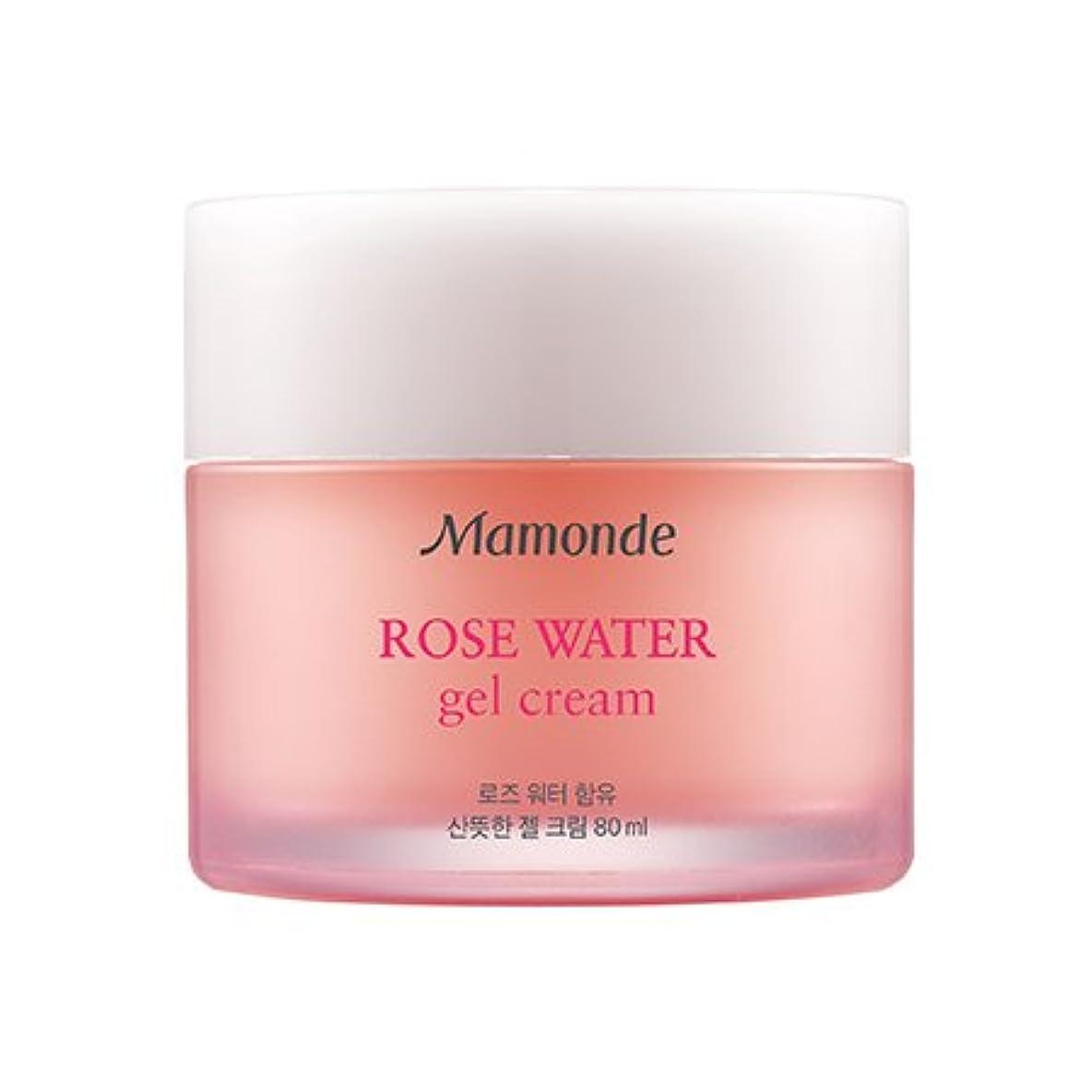 継承致命的な寛大なMamonde Rose Water Gel Cream 80ml/マモンド ローズ ウォーター ジェル クリーム 80ml [並行輸入品]