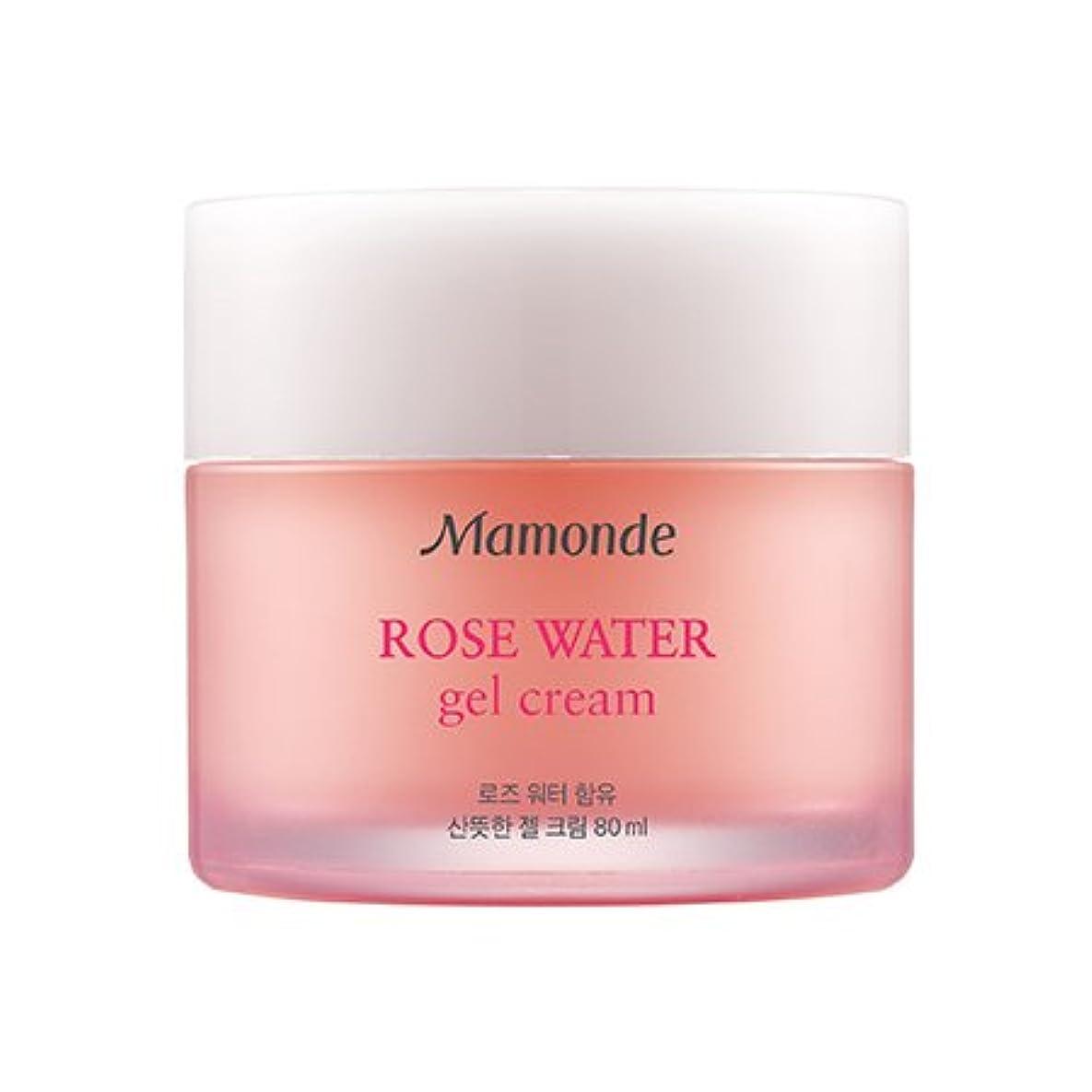 気分が良い影響力のある入口Mamonde Rose Water Gel Cream 80ml/マモンド ローズ ウォーター ジェル クリーム 80ml [並行輸入品]