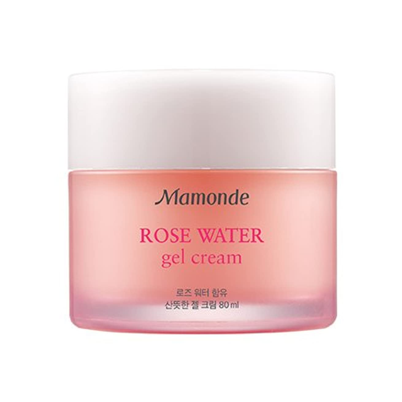 エキス薬用時系列Mamonde Rose Water Gel Cream 80ml/マモンド ローズ ウォーター ジェル クリーム 80ml [並行輸入品]